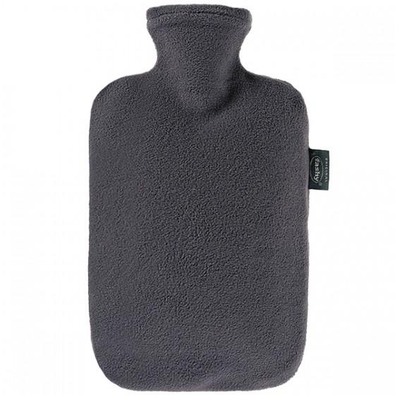 Warmwaterkruik - Met fleece hoes grijs