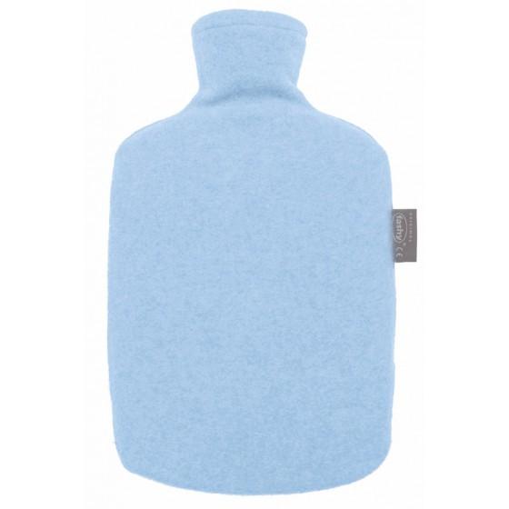 Warmwaterkruik - Met fleece hoes eco blauw
