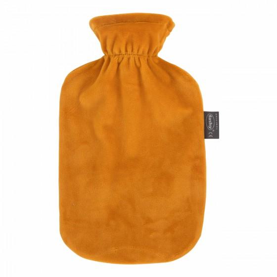 Warmwaterkruik - Met gele zachte hoes