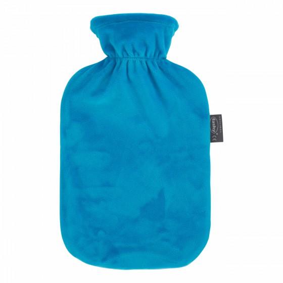 Warmwaterkruik - Met blauwe zachte hoes