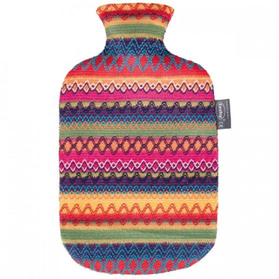 Warmwaterkruik - Met gehaakte Peru hoes
