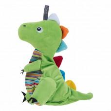 Pittenzak met koolzaad vulling dinosaurus