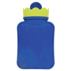 Warmwaterkruik - Siliconen blauw
