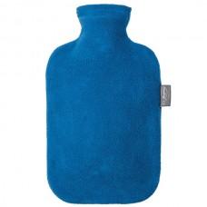 Warmwaterkruik - Met fleece hoes blauw