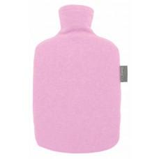 Warmwaterkruik - Met fleece hoes eco roze