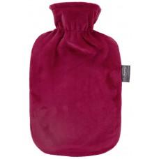 Warmwaterkruik - Met roze rood zachte hoes