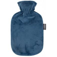 Warmwaterkruik - Met petrol blauw zachte hoes
