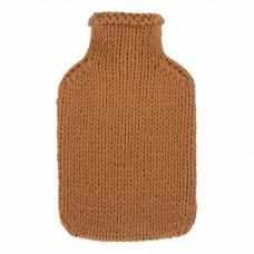 Warmwaterkruik - Met zachte gebreide hoes bruin