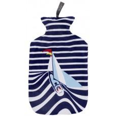 Warmwaterkruik - Met zachte hoes zeilboot