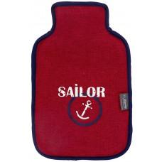 Warmwaterkruik - Met zachte hoes 'Sailor'